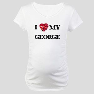 I Love MY George Maternity T-Shirt