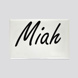 Miah artistic Name Design Magnets