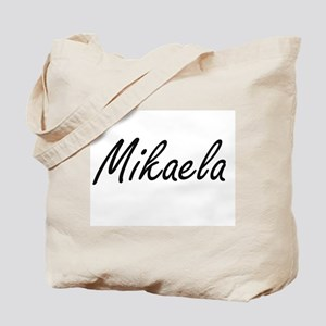 Mikaela artistic Name Design Tote Bag