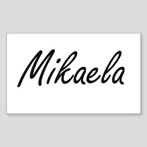 Mikaela artistic Name Design Sticker