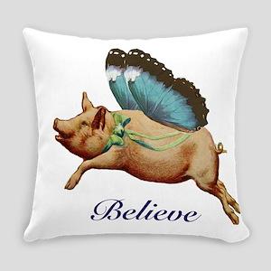 Believe Everyday Pillow