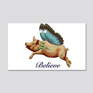 Believe 20x12 Wall Decal
