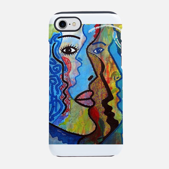 Abstract Woman Graffiti iPhone 8/7 Tough Case