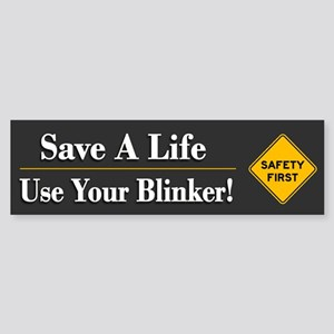 Save A Life - Bumper Sticker