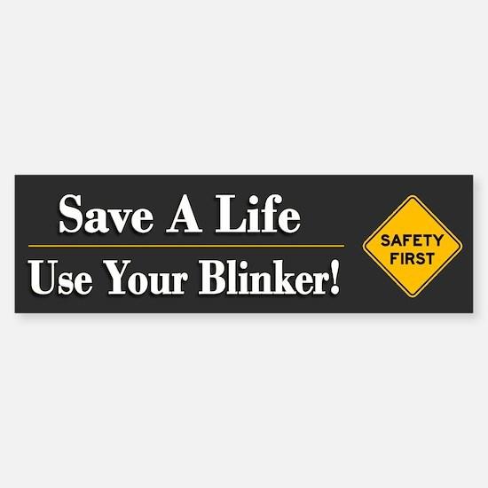 Save A Life - Bumper Bumper Bumper Sticker