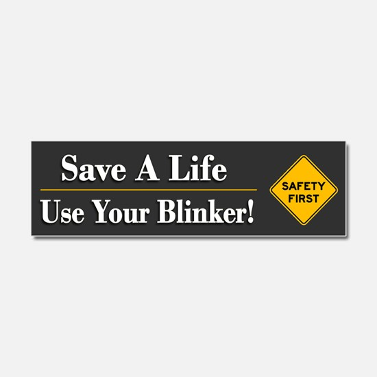 Save A Life - Car Magnet 10 X 3