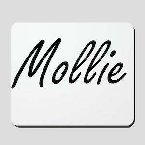 Mollie artistic Name Design Mousepad