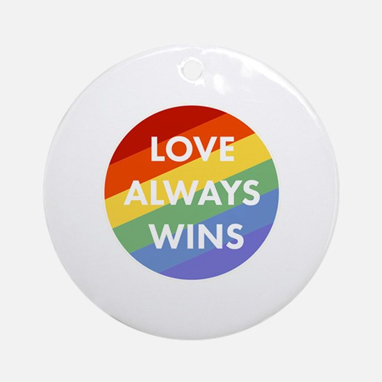 Cute Equality Round Ornament