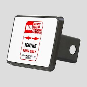 no parking tennis Rectangular Hitch Cover