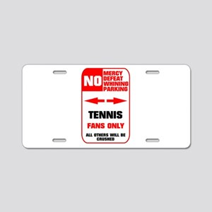 no parking tennis Aluminum License Plate