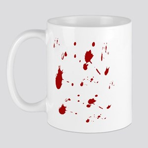 Blood Splatter Mug