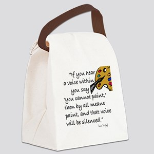 VAN GOGH - IF YOUR HEAR A VOICE.. Canvas Lunch Bag