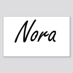Nora artistic Name Design Sticker