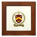 BELLEHUMEUR Family Crest Framed Tile
