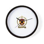 BELLEHUMEUR Family Crest Wall Clock