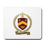 BELLEHUMEUR Family Crest Mousepad