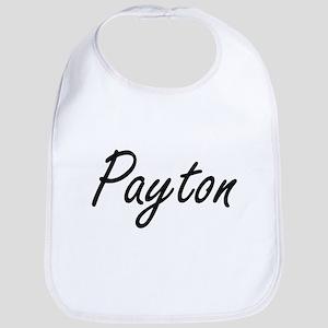 Payton artistic Name Design Bib
