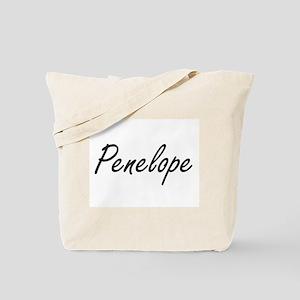 Penelope artistic Name Design Tote Bag