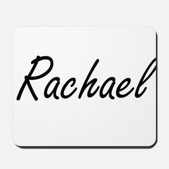 Rachael artistic Name Design Mousepad