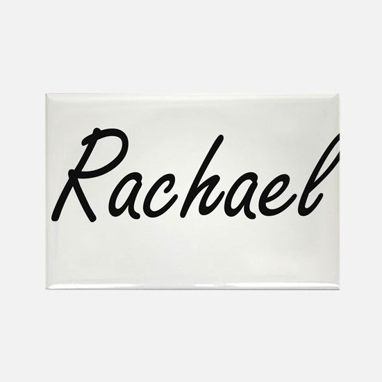 Rachael artistic Name Design Magnets