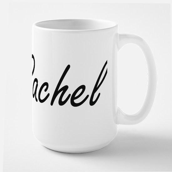 Rachel artistic Name Design Mugs