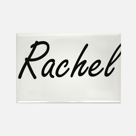 Rachel artistic Name Design Magnets