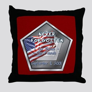 Heroes & Friends Throw Pillow
