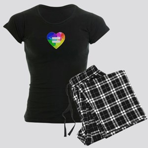 Love Wins Women's Dark Pajamas