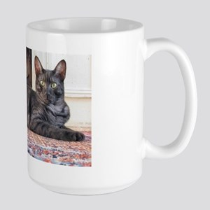 egyptian mau laying Mugs