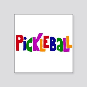 Pickleball Letters Art Sticker