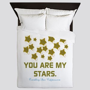 YOU ARE MY STARS. Queen Duvet