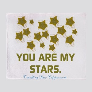 YOU ARE MY STARS. Throw Blanket