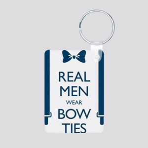 Real Men Wear Bow Ties Keychains