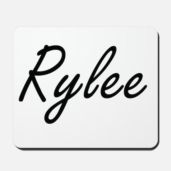 Rylee artistic Name Design Mousepad