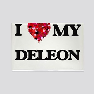 I Love MY Deleon Magnets