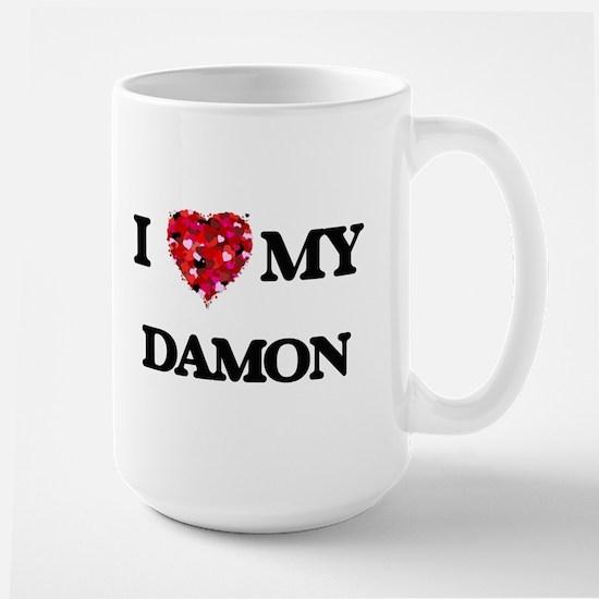 I Love MY Damon Mugs