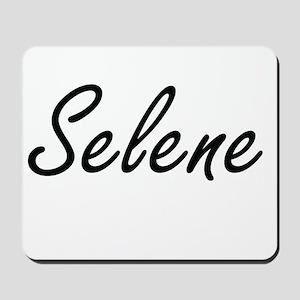 Selene artistic Name Design Mousepad