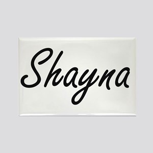 Shayna artistic Name Design Magnets