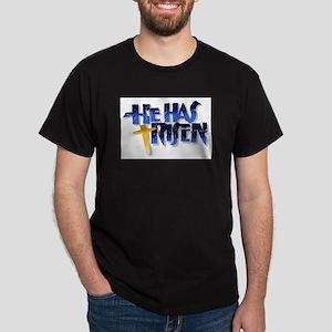 He Has Risen Dark T-Shirt