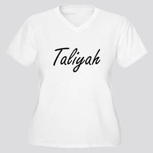 Taliyah artistic Name Design Plus Size T-Shirt