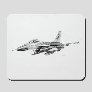 F-16 Pencil Prints by RKSmith Mousepad