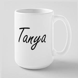 Tanya artistic Name Design Mugs
