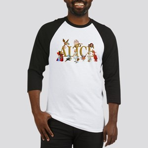 Alice and Friends in Wonderland, i Baseball Jersey