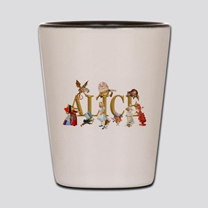 Alice and Friends in Wonderland, includ Shot Glass