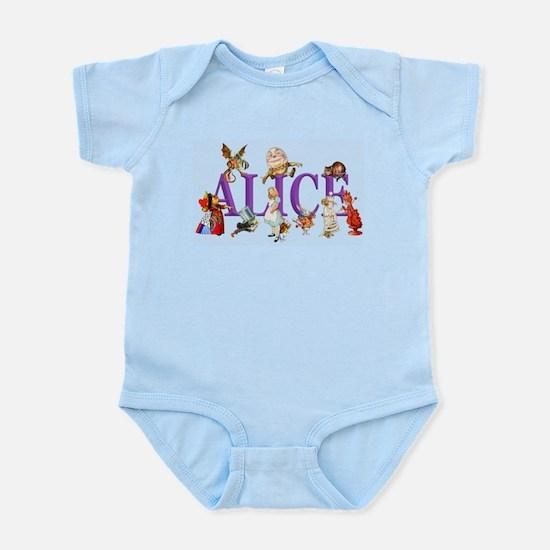 Alice and Friends in Wonderland, i Infant Bodysuit