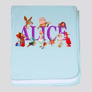 Alice and Friends in Wonderland, incl baby blanket