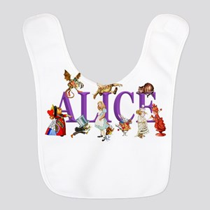 Alice and Friends in Wonderland, including the Bib