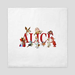 Alice and Friends in Wonderland, inclu Queen Duvet
