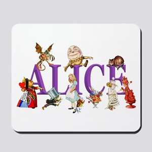 Alice and Friends in Wonderland, includi Mousepad