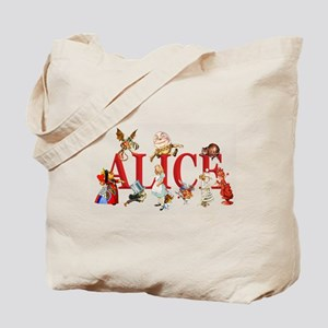 Alice and Friends in Wonderland, includin Tote Bag